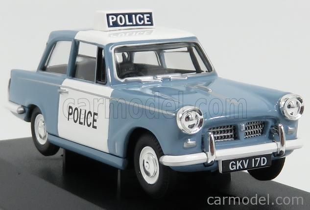 VANGUARDS VA00518 Scale 1/43  TRIUMPH HERALD 1200 SALOON POLICE 1967 GREY