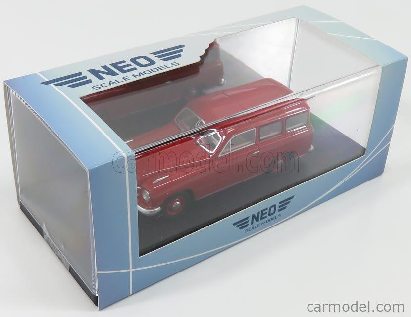 NEO SCALE MODELS NEO47110 Scale 1/43  BORGWARD HANSA 1500 KOMBI 1950 RED
