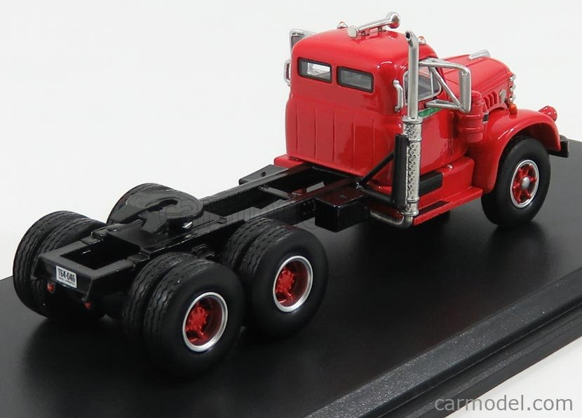 NEO SCALE MODELS NEO64046 Scale 1/64  DIAMOND T921 TRACTOR TRUCK 3-ASSI 1955 RED BLACK