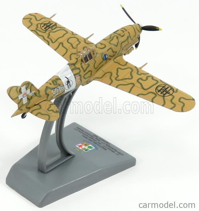 ITALERI IT48210 Scale 1/100  MACCHI MC202 51th STORMO CATANIA ITALY AIRPLANE 1943 - AEREONATICA MILITARE ITALIANA - ITALIAN AIR FORCE CAMOUFLAGE