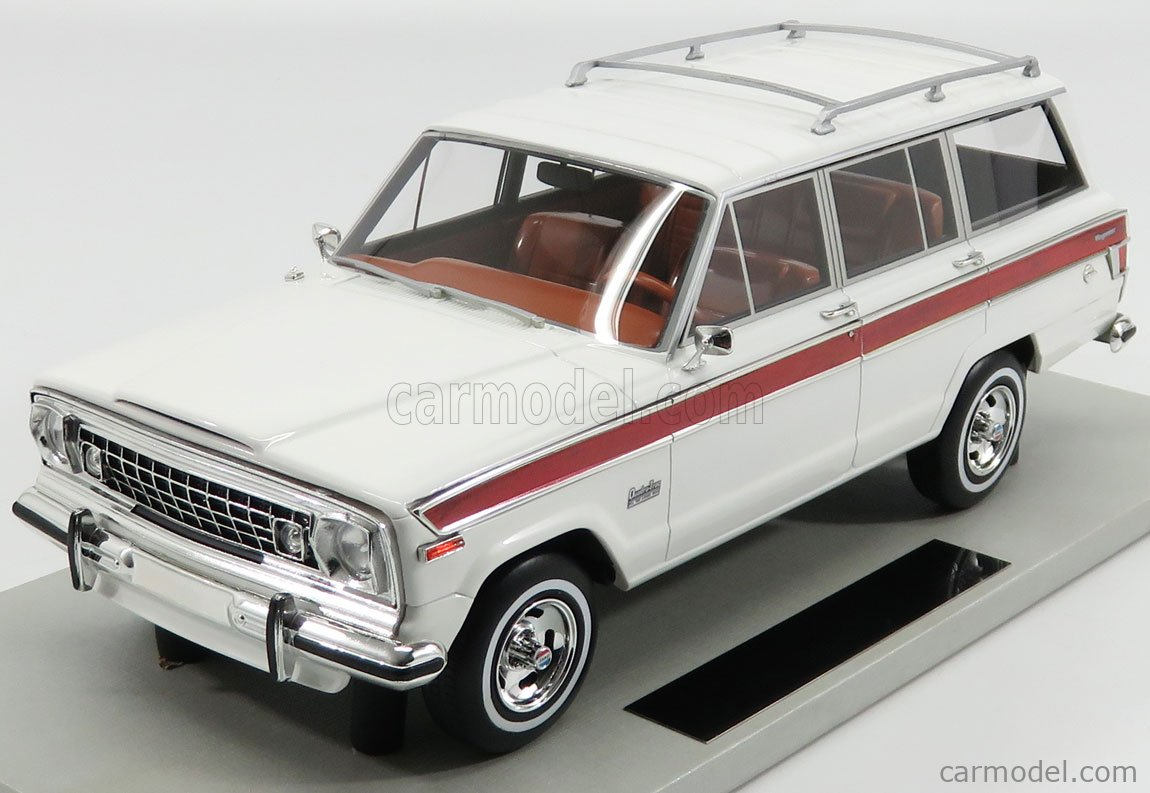 LS-COLLECTIBLES LS037C Masstab: 1/18  JEEP GRAND WAGONEER 1979 WHITE