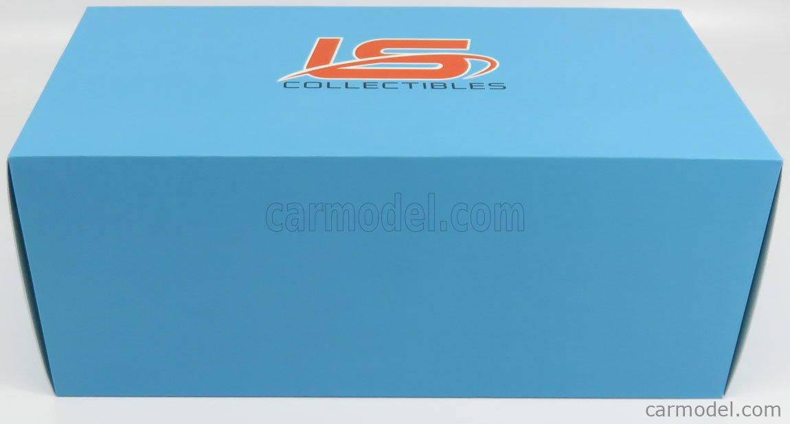 LS-COLLECTIBLES LS037B Masstab: 1/18  JEEP GRAND WAGONEER 1979 ORANGE
