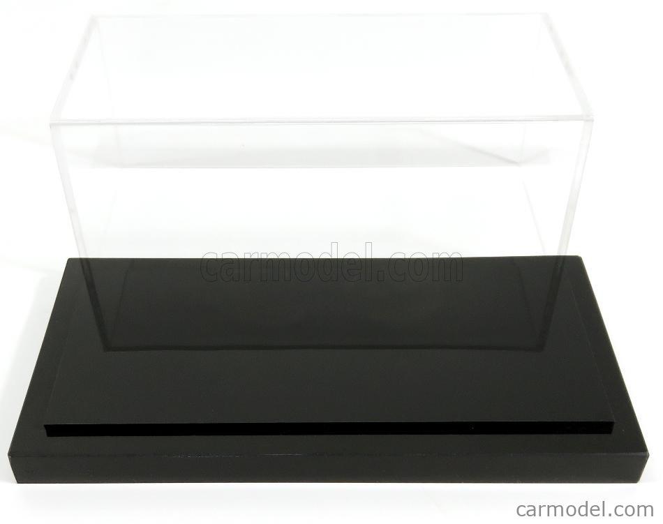 ATLANTIC ATL10006 Масштаб 1/43  VETRINA DISPLAY BOX DETROIT BASE NERA - BLACK BASE - Lungh.LENGHT cm 17 X Largh.WIDTH cm 8 X Alt.HEIGHT cm 7 (altezza interna 6.2 cm ) BLACK - PLASTIC DISPLAY