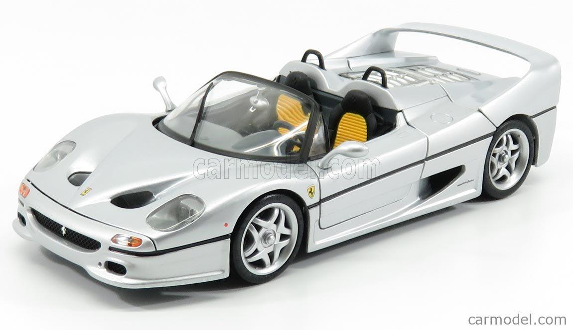 Mattel Hot Wheels 23933 Masstab 1 18 Ferrari F50 Spider 1995 Silver