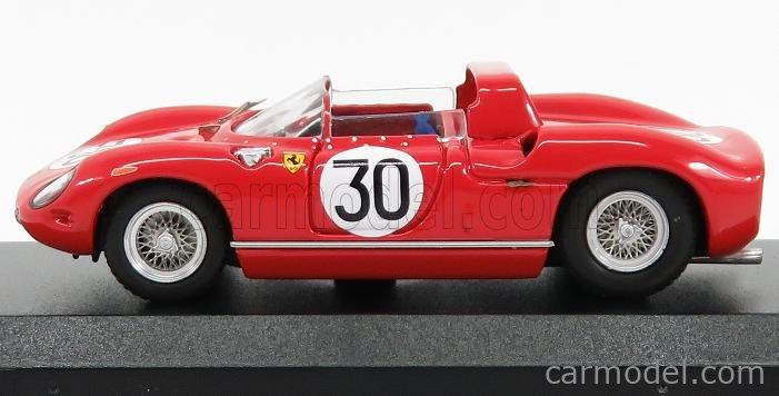 ART-MODEL ART119/2 Echelle 1/43  FERRARI 250P SPIDER ch.0810 n 30 WINNER 12h SEBRING 1963 SURTEES - SCARFIOTTI RED