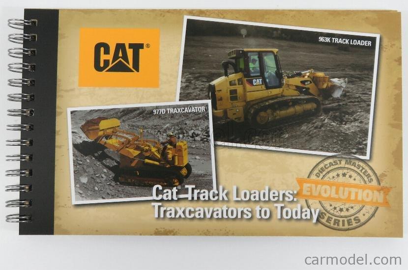 DM-MODELS 85559 Echelle 1/50  CATERPILLAR SET 2X CAT963K + CAT977D RUSPA CINGOLATA - TRACTOR TRAXCAVATOR TRACK LOADER YELLOW BLACK