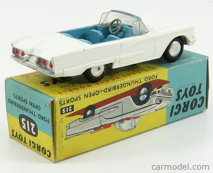 CORGI 215 Scale 1/43  FORD USA THUNDERBIRD OPEN SPORTS WHITE