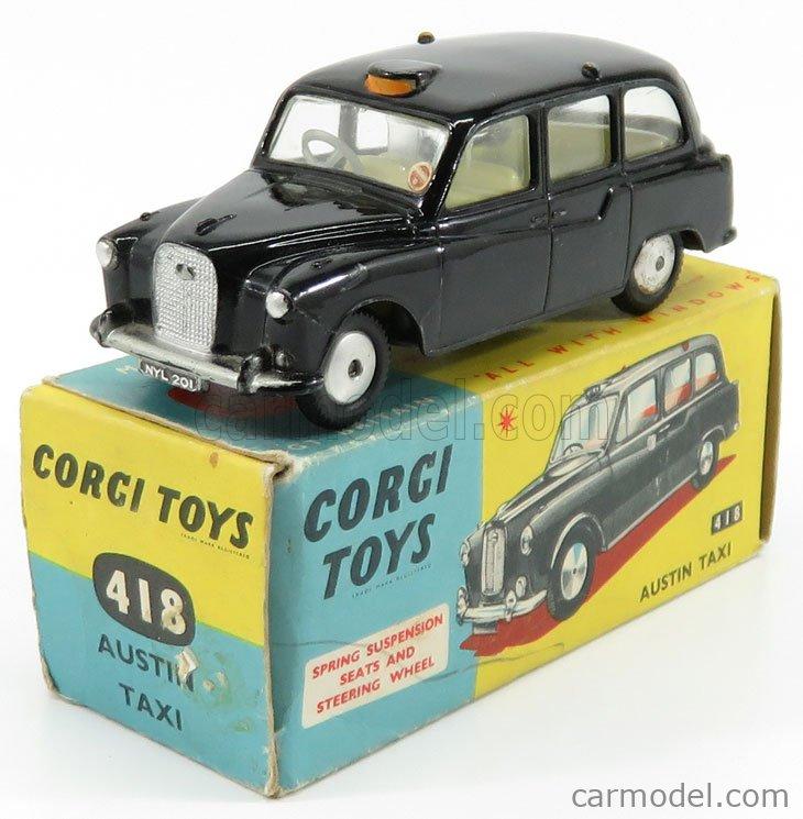 CORGI 418 Echelle 1/43  AUSTIN LONDON TAXI BLACK