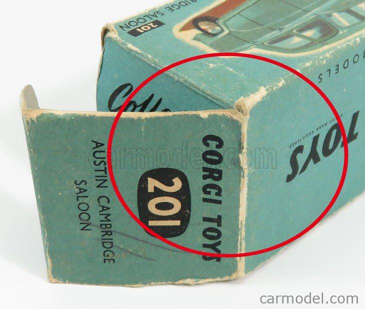 CORGI 201 Echelle 1/43  AUSTIN CAMBRIDGE SALOON LIGHT BLUE