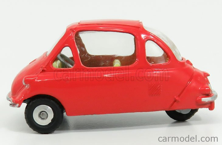CORGI 233 Scale 1/43  HEINKEL ECONOMY CAR SCARLET LIGHT RED