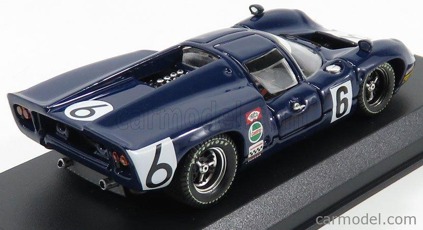 BEST-MODEL 9196-2 Scale 1/43  LOLA T70 MK3 N 6 24h LE MANS 1968 J.EPSTEIN - E.NELSON BLUE