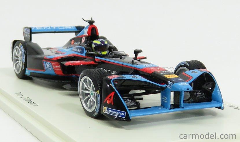 SPARK-MODEL S5906 Масштаб 1/43  VENTURI FORMULA-E TEAM N 4 RD10 NEW YORK GP 2016-2017 T.DILLMANN BLACK BLUE RED