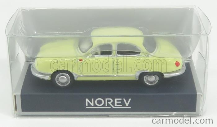 NOREV 451896 Masstab: 1/87  PANHARD DYNA Z12 1957 YELLOW
