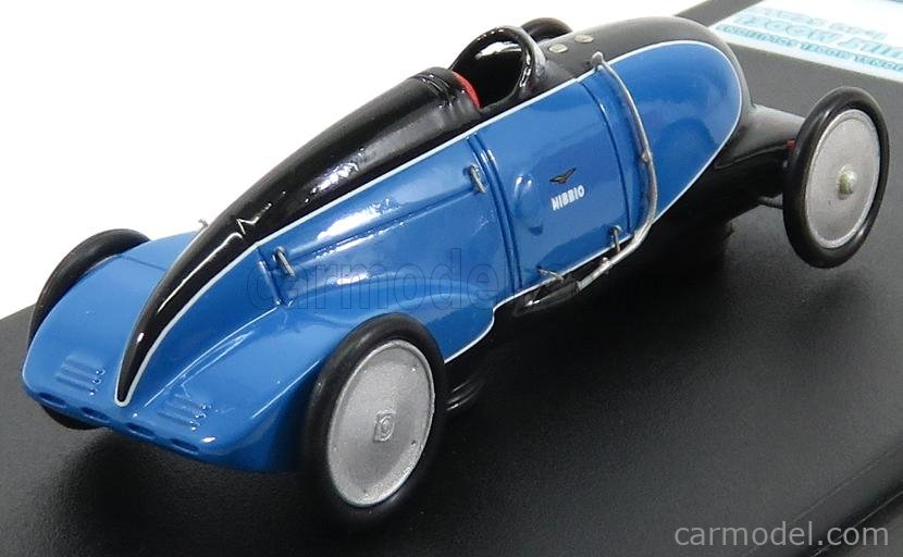 DWINDLE 002-2016 Scale 1/43  GHIA NIBBIO 1947 LAND SPEED RECORD CAR BLUE BLACK