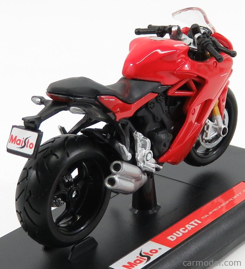 MAISTO 17040R Scale 1/18  DUCATI SUPERSPORT S 2017 RED