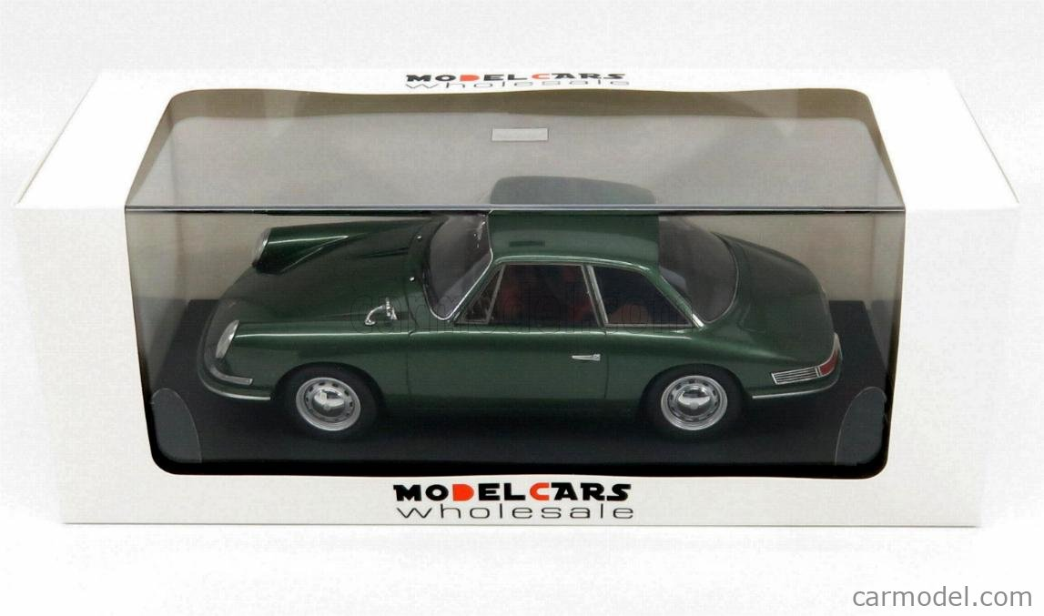 MODELCARSWHOLESALE ATC90058 Masstab: 1/18  PORSCHE 754 T7 - PROTOTYPE 901/911 COUPE 1959 - EXCLUSIVE CARMODEL GREEN MET