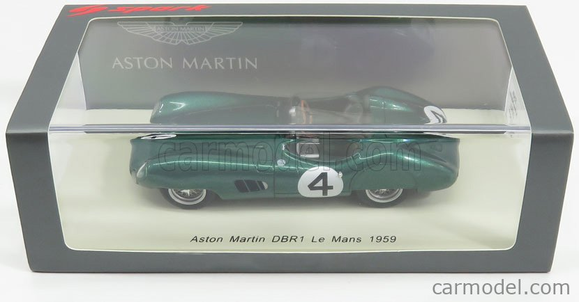 Aston Martin Dbr1 Spider #4 24H Le Mans 1959 Moss Fairman SPARK 1:43 S2438 Model
