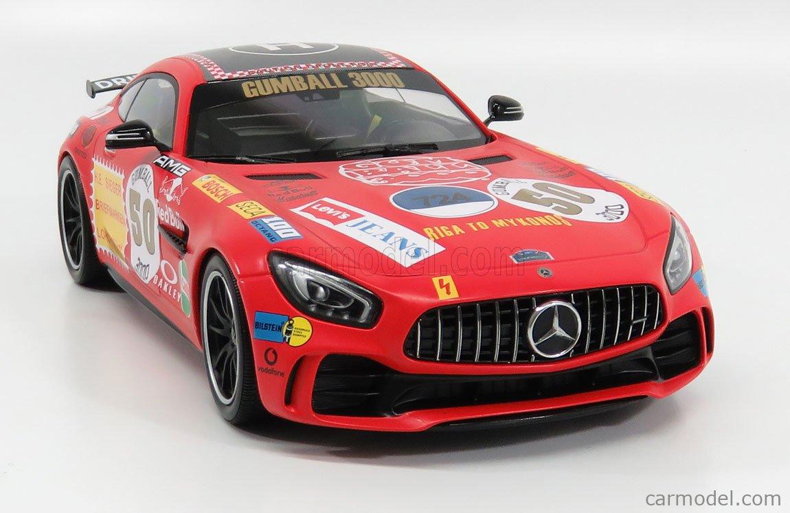 "Mercedes-AMG GT R /""Rote Sau/"" • 2017 • NEU • Minichamps 155036024 • 1:18"