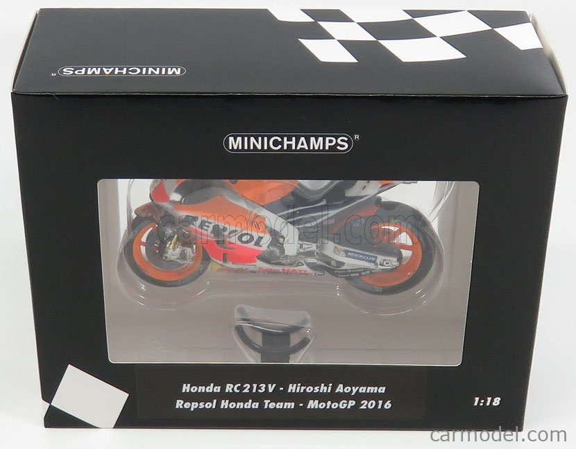 1:18 Minichamps Honda RC213V Moto GP Aoyama 2016