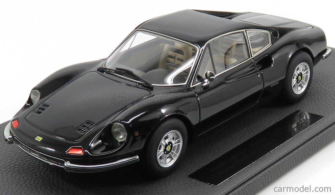 Topmarques Top088c Scale 1 18 Ferrari Dino 246 Gt 1972 Black