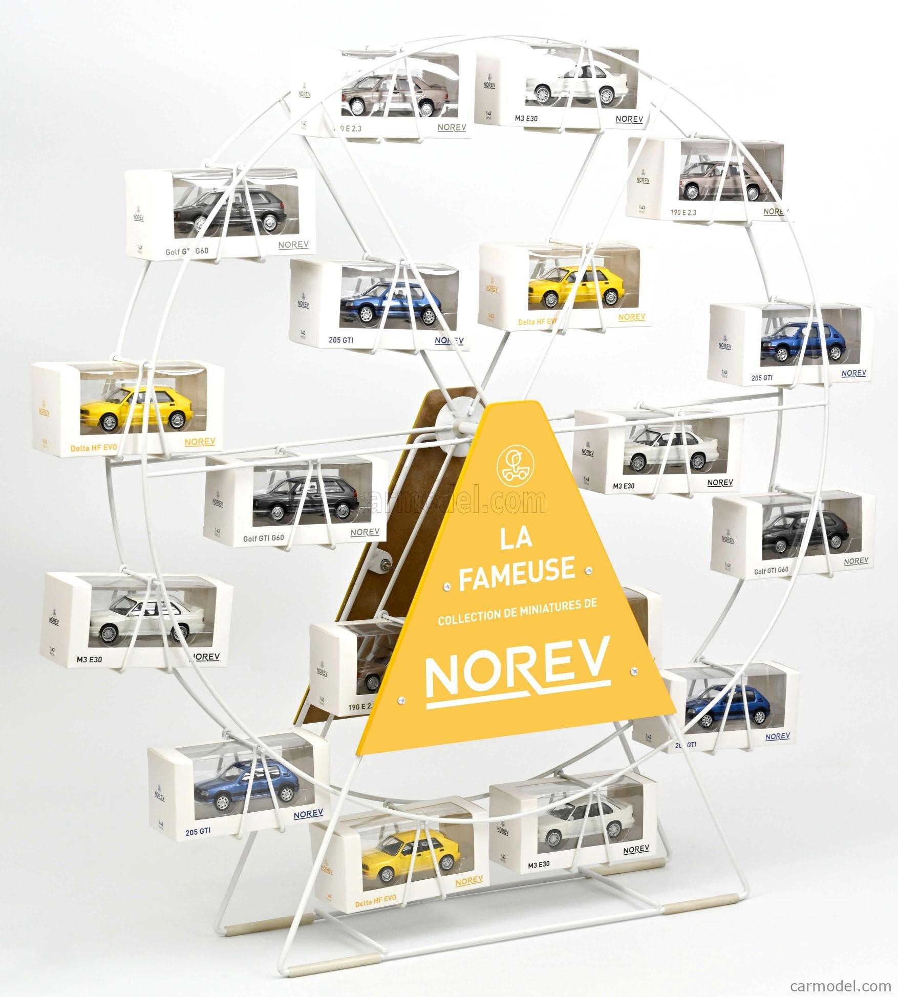 NOREV 310004 Scale 1/43  ACCESSORIES ESPOSITORE TIPO RUOTA PANORAMICA - PANORAMIC WHEEL DISPLAY - DIAMETER cm.66 X Alt.HEIGHT cm.74 /