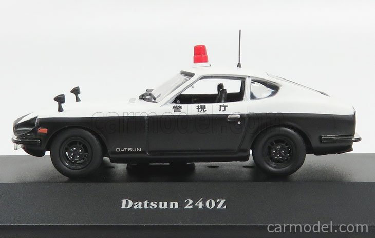 EDICOLA 7598004 Scale 1/43  NISSAN 240Z FAIRLADY POLICE 1970 WHITE BLACK