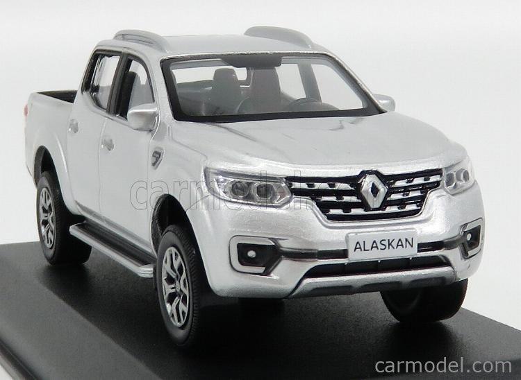 Echelle 1//43 518399 Renault Alaskan Pick-Up 2017 Silver  NOREV