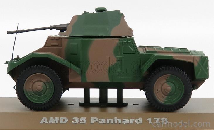 EDICOLA 6690008 Masstab: 1/43  PANHARD AMD 35 178 TANK NETHERLANDS 1940 MILITARY CAMOUFLAGE