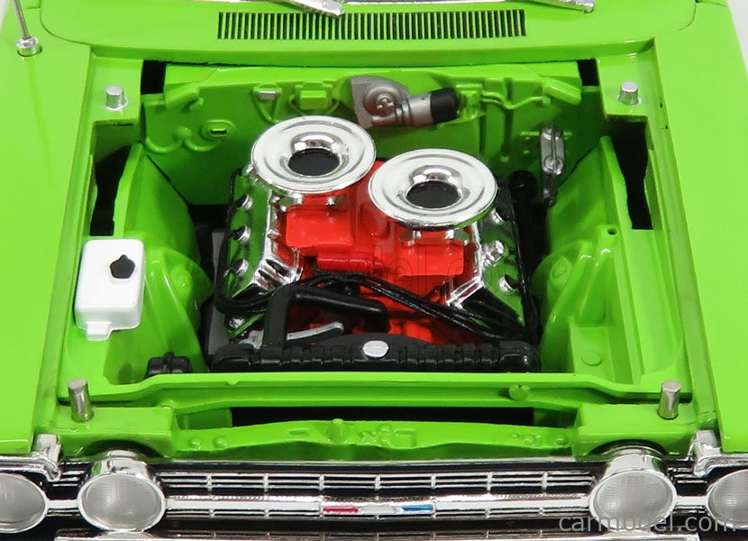 ACME-MODELS A1806703 Scale 1/18  PLYMOUTH GTX CUSTOM COUPE 1967 LIME GREEN
