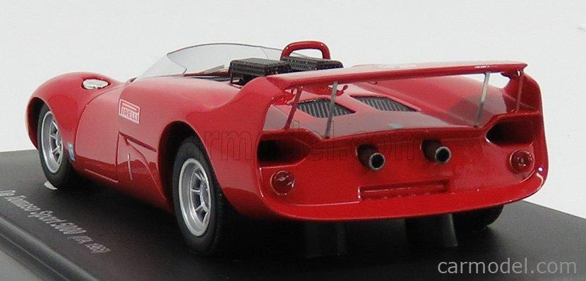 AVENUE43 ATC60020 Scale 1/43  DE TOMASO SPORT 5000 ITALY 1966 RED