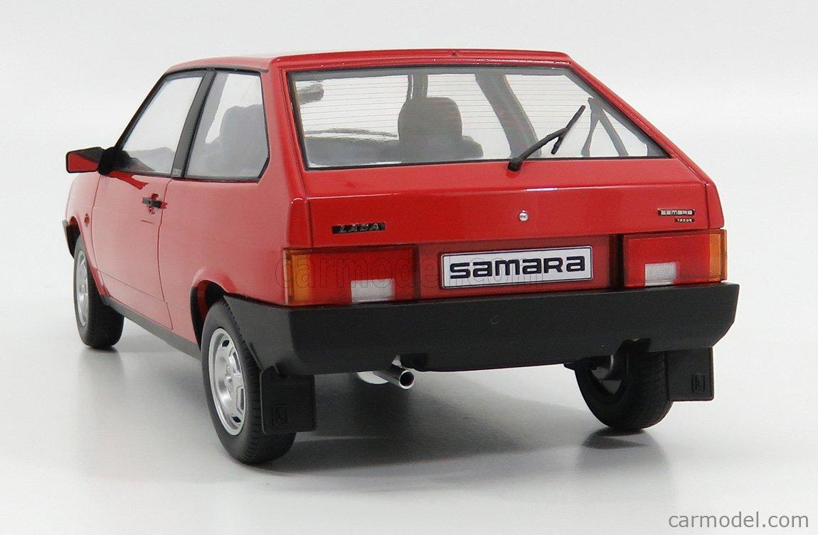 KK-SCALE KKDC180213 Scale 1/18  LADA SAMARA 1984 RED