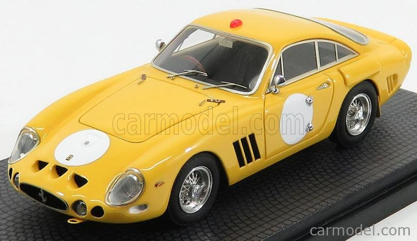 Bbr Models Car57a2 Masstab 1 43 Ferrari 330 Lmb Rhd S N 4725 Sa Telacrest Test Version 2013 Yellow