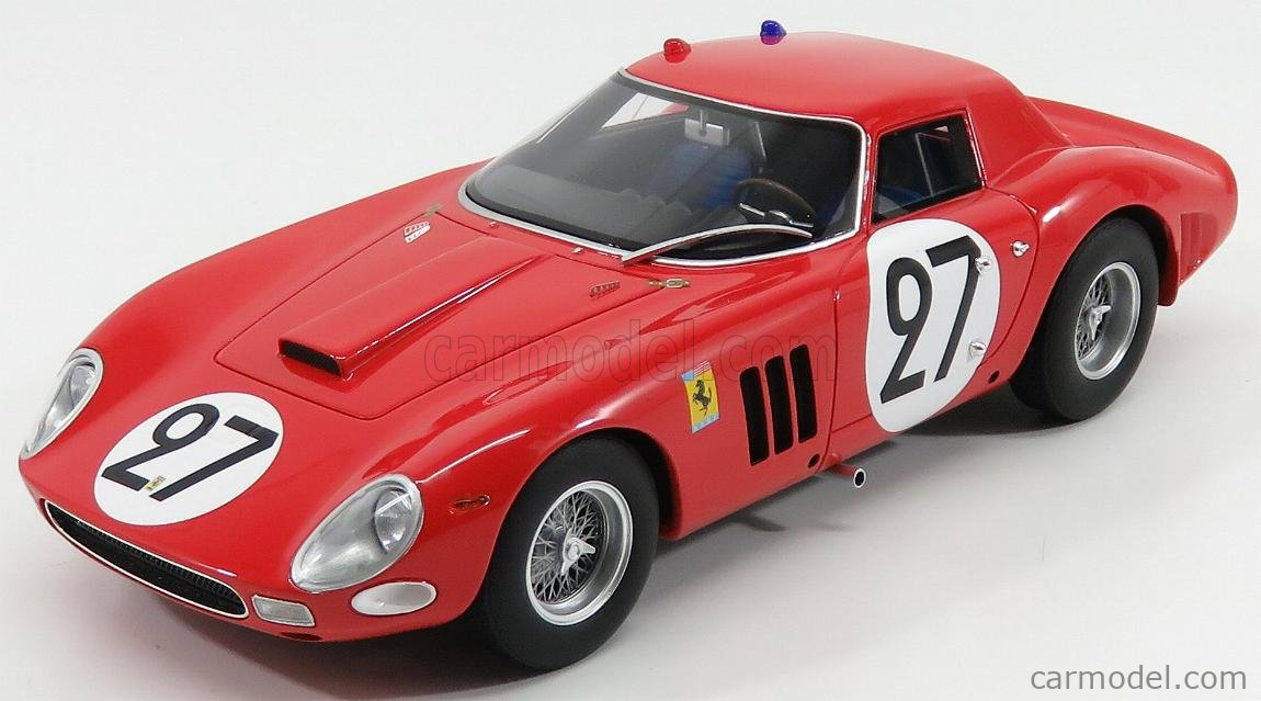 Cmr Cmr077 Scale 1 18 Ferrari 250 Gto 64 Coupe Team North American Racing N A R T N 27 24h Le Mans 1964 F Tavano B Grossman Red