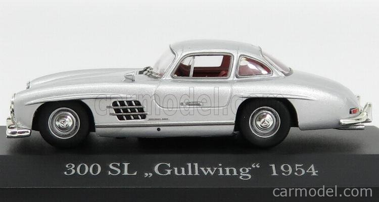 EDICOLA MEBEOFMOSAMCOLL001 Масштаб 1/43  MERCEDES BENZ 300SL COUPE GULLWING (W198) 1954 SILVER