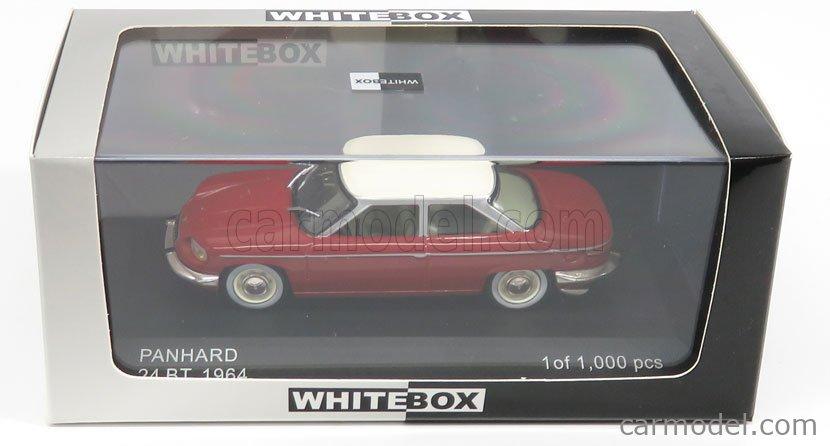 WHITEBOX WB112-198336 Masstab: 1/43  PANHARD 24 BT 1964 RED WHITE