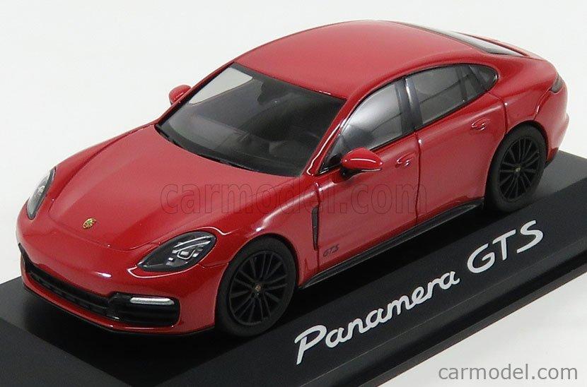 HERPA WAP0207310J Scale 1/43  PORSCHE PANAMERA GTS 2017 CARMEN RED