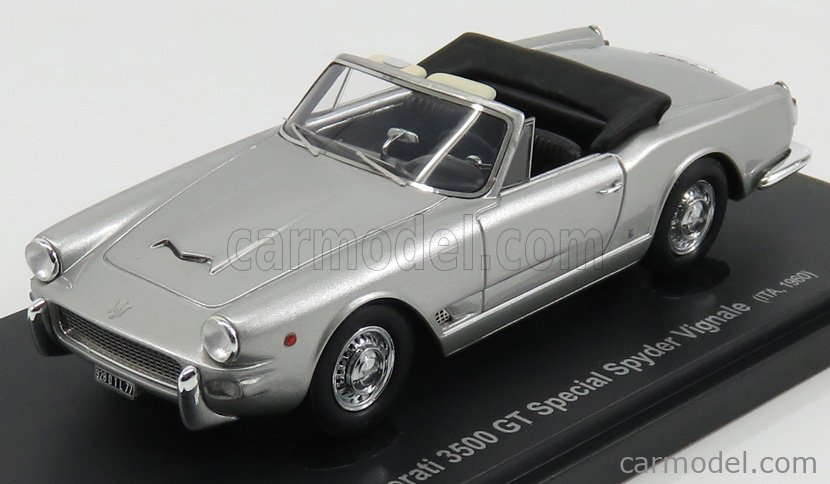 AVENUE43 ATC60019 Scale 1/43  MASERATI 3500 GT SPECIAL SPIDER ITALY 1960 SILVER
