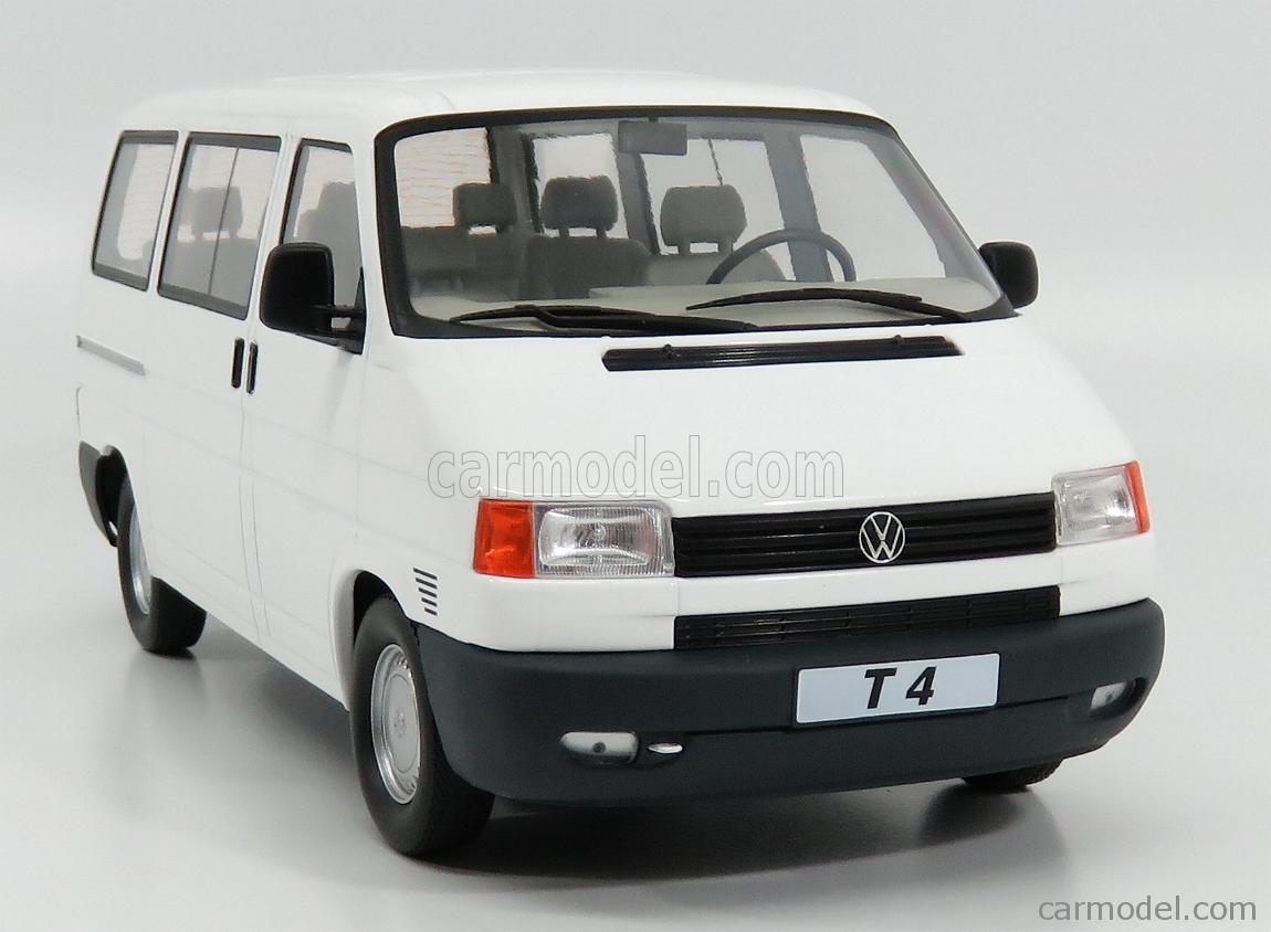 VW VOLKSWAGEN T4 CARAVELLE 1992 WHITE 1:18 KK SCALE KKDC180262