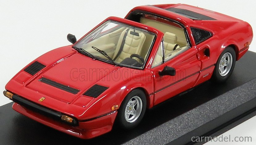 Best Model 9742 Masstab 1 43 Ferrari 308 Gts Spider Personal Car Tom Sellek Magnum P I Seconda Serie 1980 Red