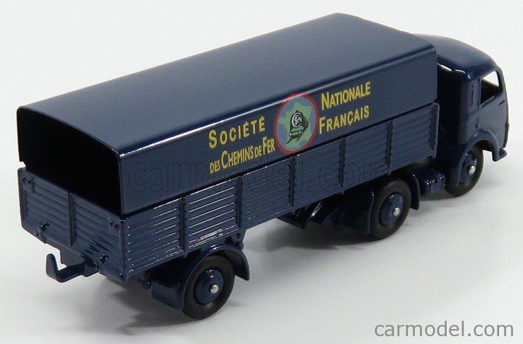 EDICOLA 32AB Masstab: 1/43  PANHARD TRUCK TELONATO 3-ASSI SOCIETE NATIONALE DES CHEMINS DE FER FRANCAIS 1950 BLUE