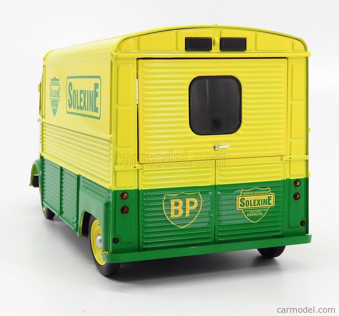 Citroen Type Hy Solexine Van 1969 Yellow Green SOLIDO 1:18 SL1850023 Model