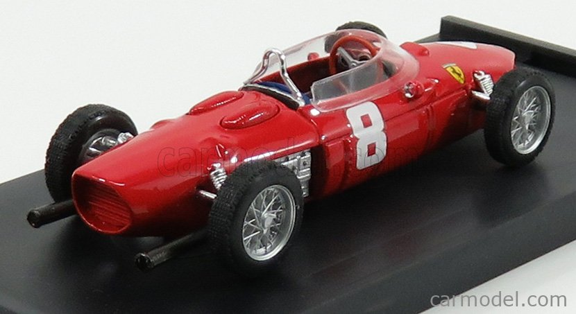 BRUMM R642 Echelle 1/43  FERRARI F1  156 N 8 ITALY GP 1961 P.RODRIGUEZ RED