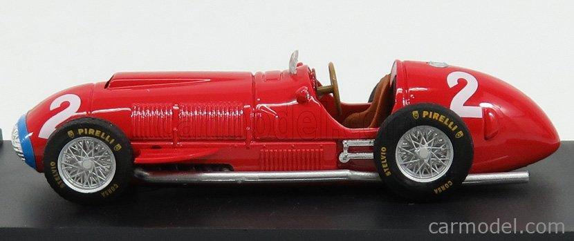 BRUMM R191-UPD Echelle 1/43  FERRARI F1  375 N 2 WINNER ITALY GP 1951 A.ASCARI RED