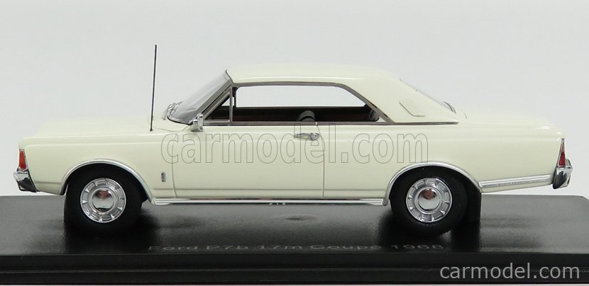 NEO SCALE MODELS NEO49551 Scale 1/43  FORD ENGLAND TAUNUS P7B 20M COUPE 1971 WHITE