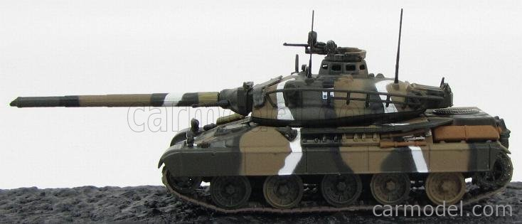 EDICOLA CARARMDEA050 Masstab: 1/72  PANHARD TANK AMX-30B ARMOURED TROOPS SCHOOL THESALONIKA GREECE 1990 CAMOUFLAGE
