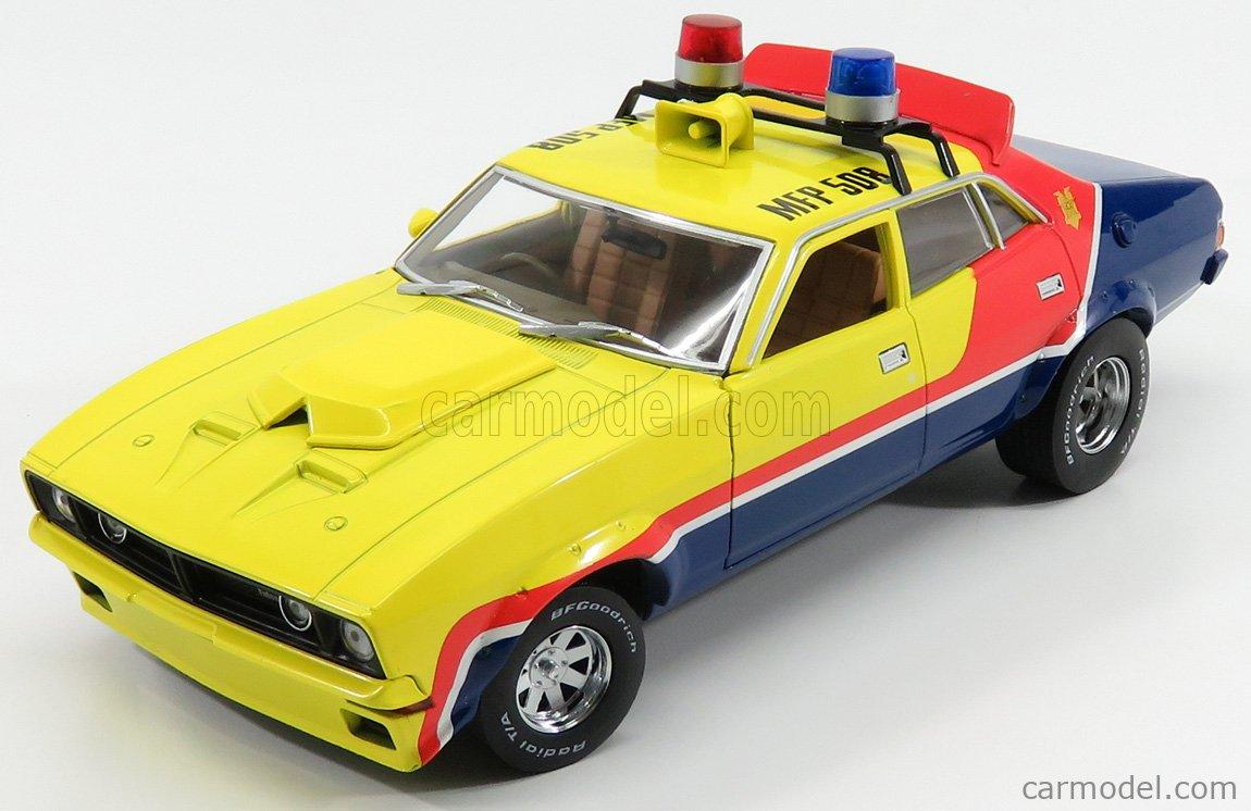 FORD USA - FALCON XB V8 POLICE INTERCEPTOR MAD-MAX 1973 MOVIE - M.ROCKATANSKY THE DARK ONE