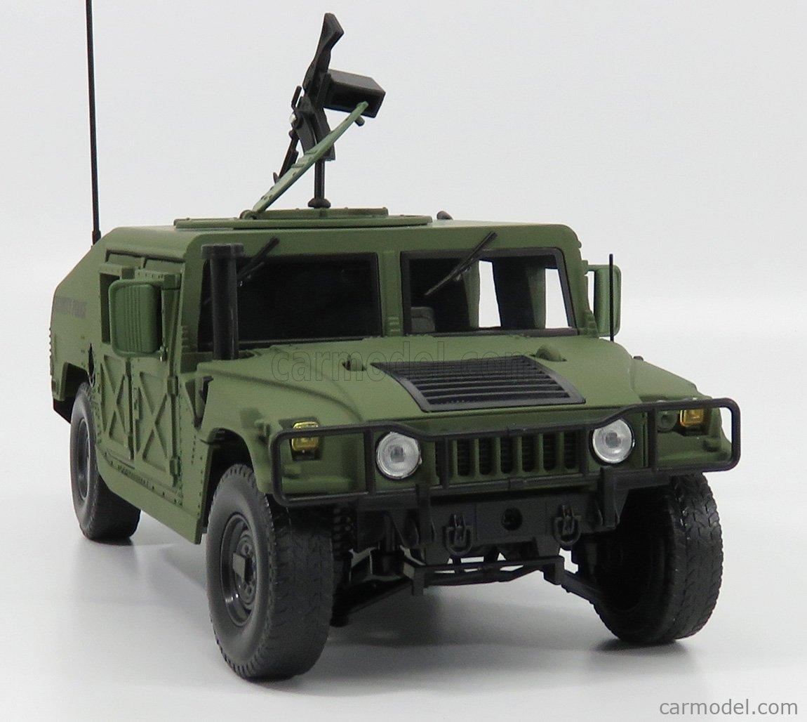 AUTOWORLD AWML003A/12A Echelle 1/18  HUMMER R-2 MILITARY POLICE 1991 MILITARY GREEN