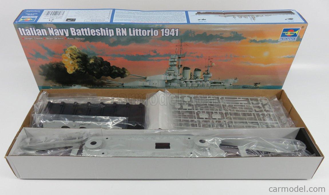 Trumpeter 05319 Navy Battleship RN Littorio Italian 1941 1//350