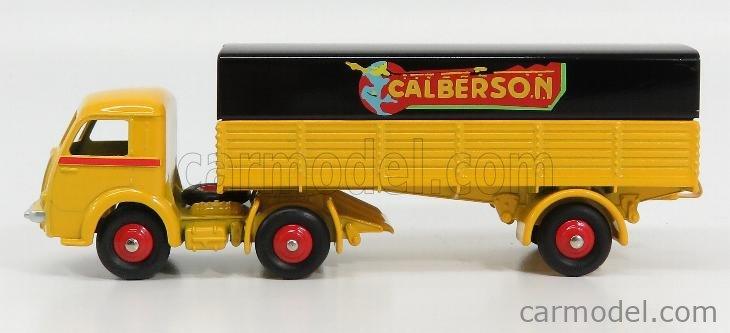 EDICOLA 32AN Masstab: 1/43  PANHARD TRUCK TELONATO 3-ASSI CALBERSON 1950 YELLOW BLACK