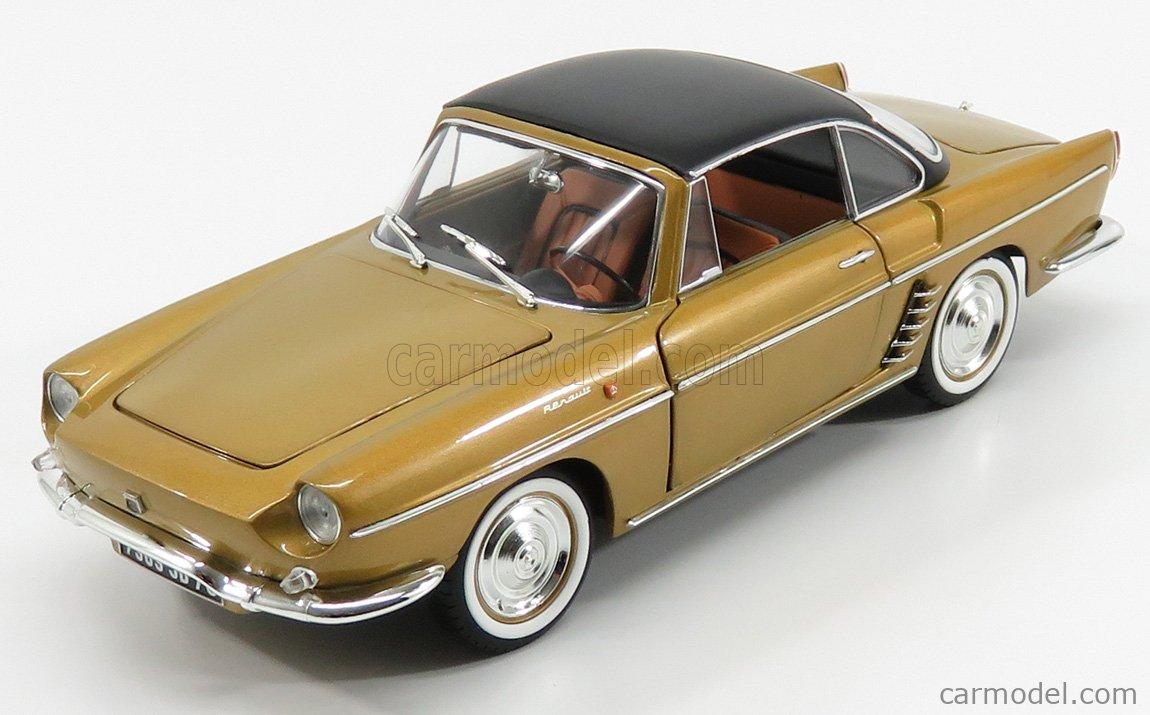 Renault Floride 1959 Bahamas Yellow Metallic 1:18 Norev Voiture Model Car 185182
